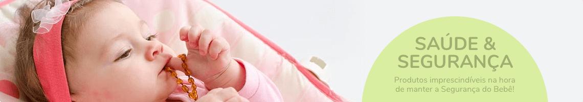 Colar de âmbar para dentição dos bebês