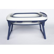 Banheira de plástico flexível média Azul Marinho - Baby Pil