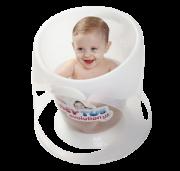 Banheira para bebês Baby Tub Evolution Branca - 0 a 8 meses
