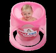 Banheira para bebês Baby Tub Evolution Rosa - 0 a 8 meses