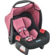 Bebê conforto Burigotto Touring Evolution SE Preto e Rosa