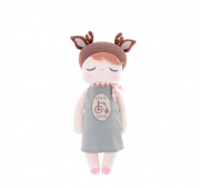 Boneca Metoo Angela Doceira Retro Deer marrom