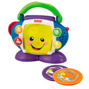 Brinquedo CD Player Aprender e Brincar - Fisher Price