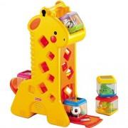 Brinquedo Girafa com Blocos Surpresa - Fisher Price