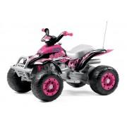 Carrinho elétrico Quadriciclo Corral T-Rex Pink 12volts - Pegperego