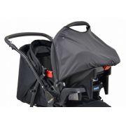 Conjunto Carrinho de bebê + bebê conforto AT6 K+Touring Evol SE Preto e Cinza