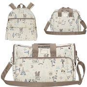 Conjunto de bolsa maternidade - Coleção bichinhos - Esquilo