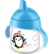 Copo Pinguim 260ml Azul - Philips Avent
