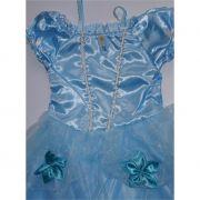 Fantasia Cinderela Azul Céu
