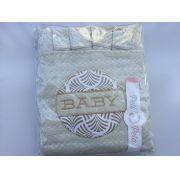 Jogo de lençol padrão americano 3pçs Baby