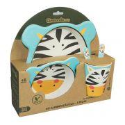Kit alimentação zebra eco Girotondo Baby - 5 peças