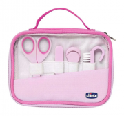 Kit de higiêne para bebês Happy Hands rosa - Chicco