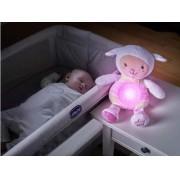 Luminária de bebê ovelha doce soninho rosa - Chicco