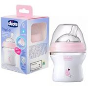 Mamadeira Rosa Anti-refluxo Step Up 150Ml - Chicco