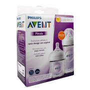 Mamadeiras Pétala Transparentes Pack 125ml e 260ml - Philips Avent
