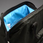 Mochila Maternidade Diaper Bag Azul e Preto