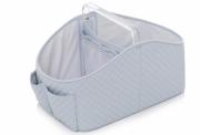 Porta fraldas e organizador de higiêne para bebês Azul - Lequiqui