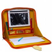 Suporte para tablet com pasta de atividades Color Bag Patinho Joy - Baby Pil