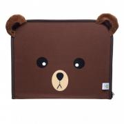 Suporte para tablet com pasta de atividades Color Bag Urso Zeca - Baby Pil