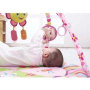 Tapete de atividades Infantil Mastela Rosa Flor Animais