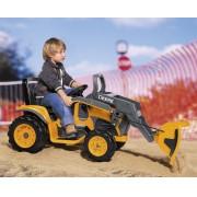 Trator elétrico Deere Construction Loader 12volts - Pegperego
