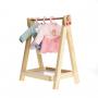 Cabideiro com 5 roupinhas da Boneca Fashion - Metoo (A boneca não faz parte deste kit)