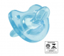 Chupeta de silicone soft Azul Chicco - (12+ Meses)