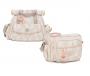 Kit Bolsa maternidade e frasqueira Luxor rosa - Lequiqui