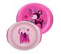 Kit de prato com copo para bebês Rosa - Chicco (12 meses +)
