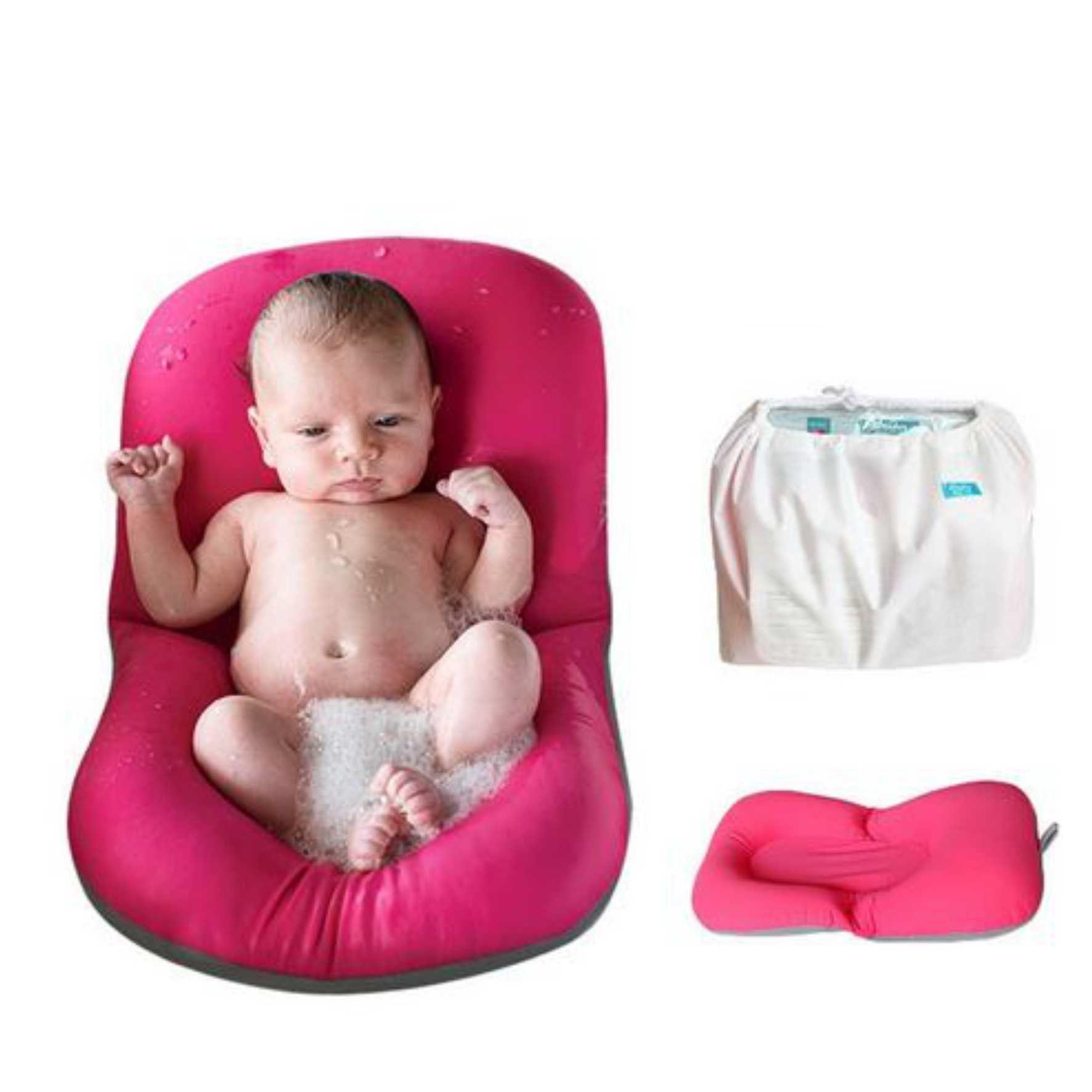 52d8c33a8 Almofada para banho do bebê - Quintal do bebê