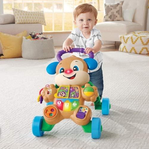 Andador e Brinquedo cachorro que anda - Fisher Price