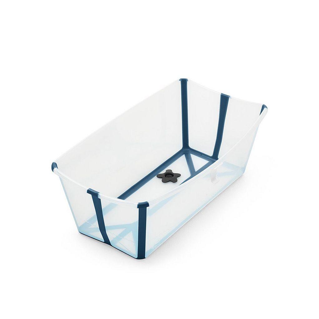 Banheira flexível Transparente azul- Stokke