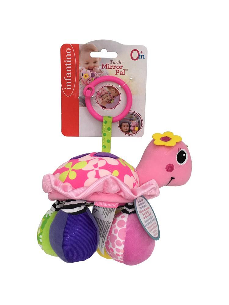 Brinquedo Mobile com mordedor Tartaruga arco iris - Infantino