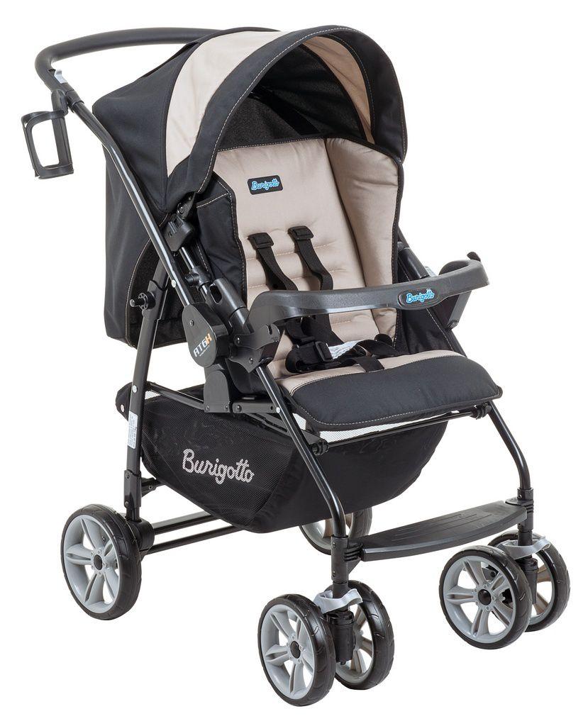 Carrinho de bebê Burigotto AT6 K Bege