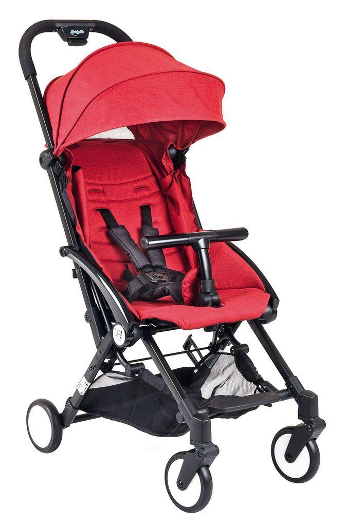 Carrinho de bebê Burigotto UP Red Black