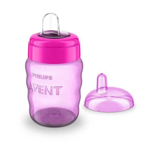 Copo Easy Sip Cup com Bico de Silicone Menina 260ml - Philips Avent