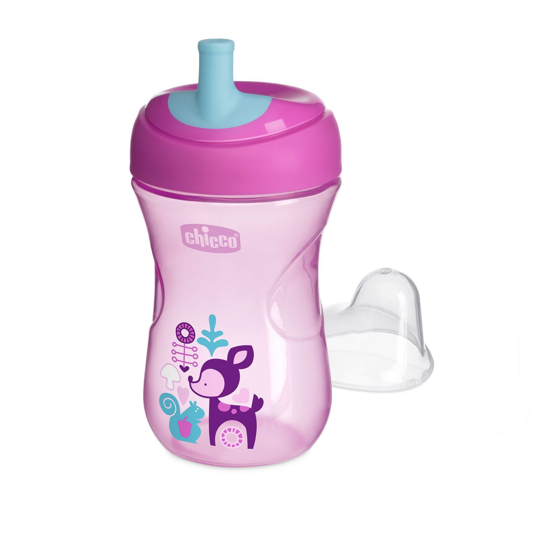 Copo para bebês Advanced Cup 12M+ Rosa - Chicco