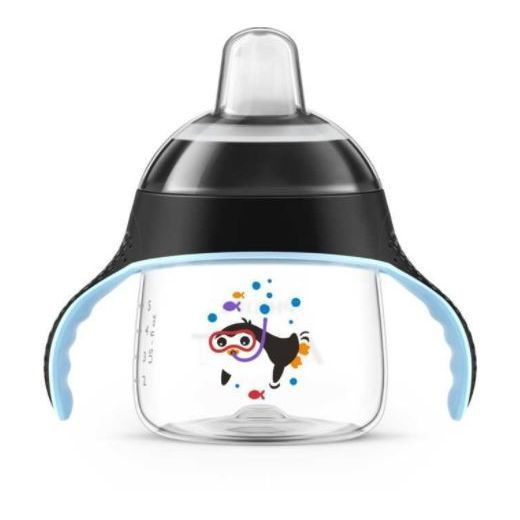Copo Pinguim 200ml Preto - Philips Avent
