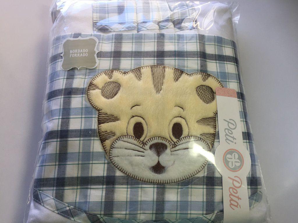 Jogo de lençol padrão americano 3pçs Gato