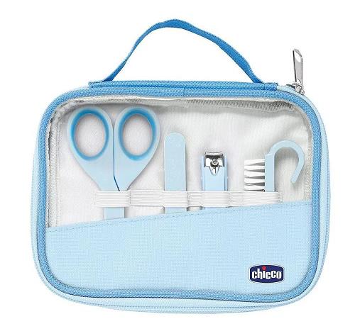 Kit de higiêne para bebês Happy Hands azul - Chicco