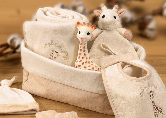 Kit presente So Pure Sophie La Girafe - Minhas primeiras horas
