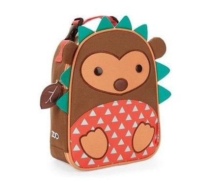 Lancheira Infantil Skip Hop - Linha Zoo - Coleção Porco Espinho