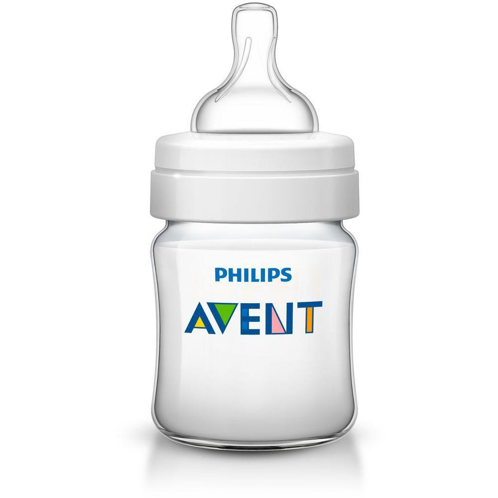 Mamadeira Clássica Avent Anti-Cólica 125ml  - Philips Avent