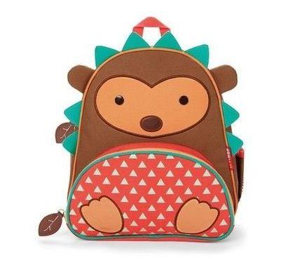 Mochila Skip Hop - Linha Zoo - Coleção Porco Espinho