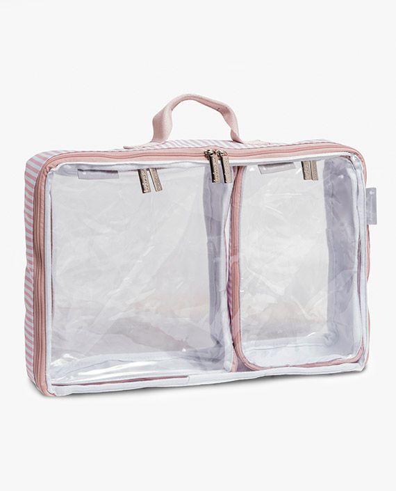 Organizador de mala de bebê - Buble Rosa - Masterbag Baby