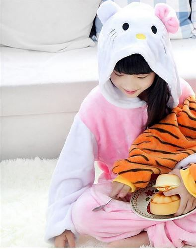 Pijama de flanela - Hello Kit
