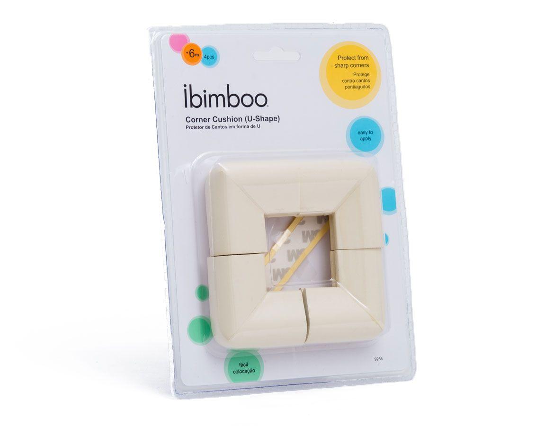 Protetor de Quinas e Cantos em silicone Ibimboo - 4pçs