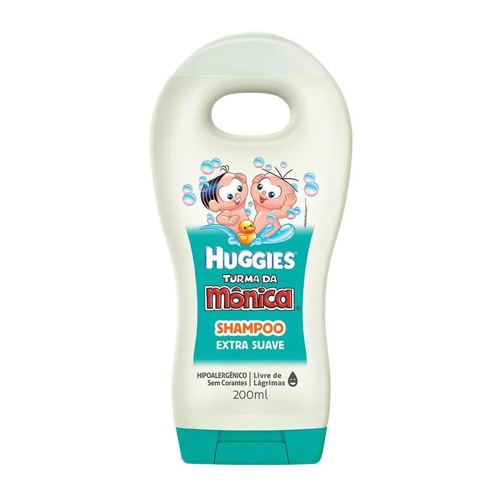 Shampoo Turma da mônica Huggies 200ML