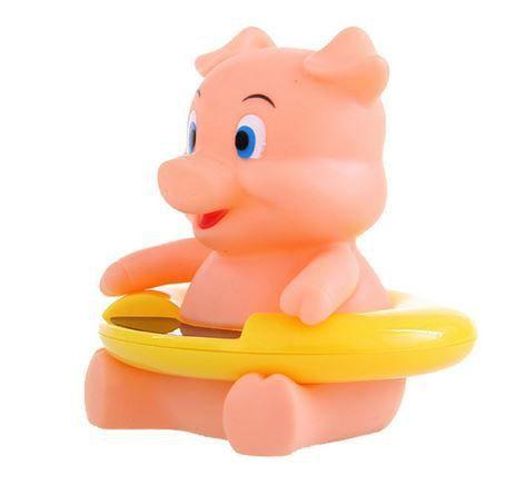 Termômetro de banheira Porquinho rosa