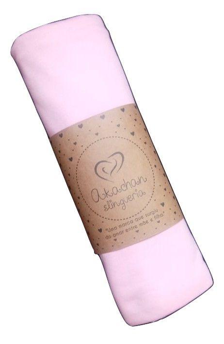 Wrap Sling Malha rosa 5 mts - akachan slingueria